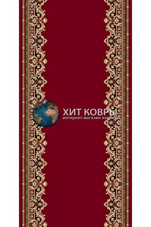 ковер в комнату кремлевский d165 красный